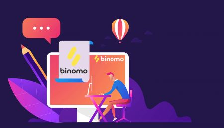 How to Sign Up and Login Account in Binomo trading