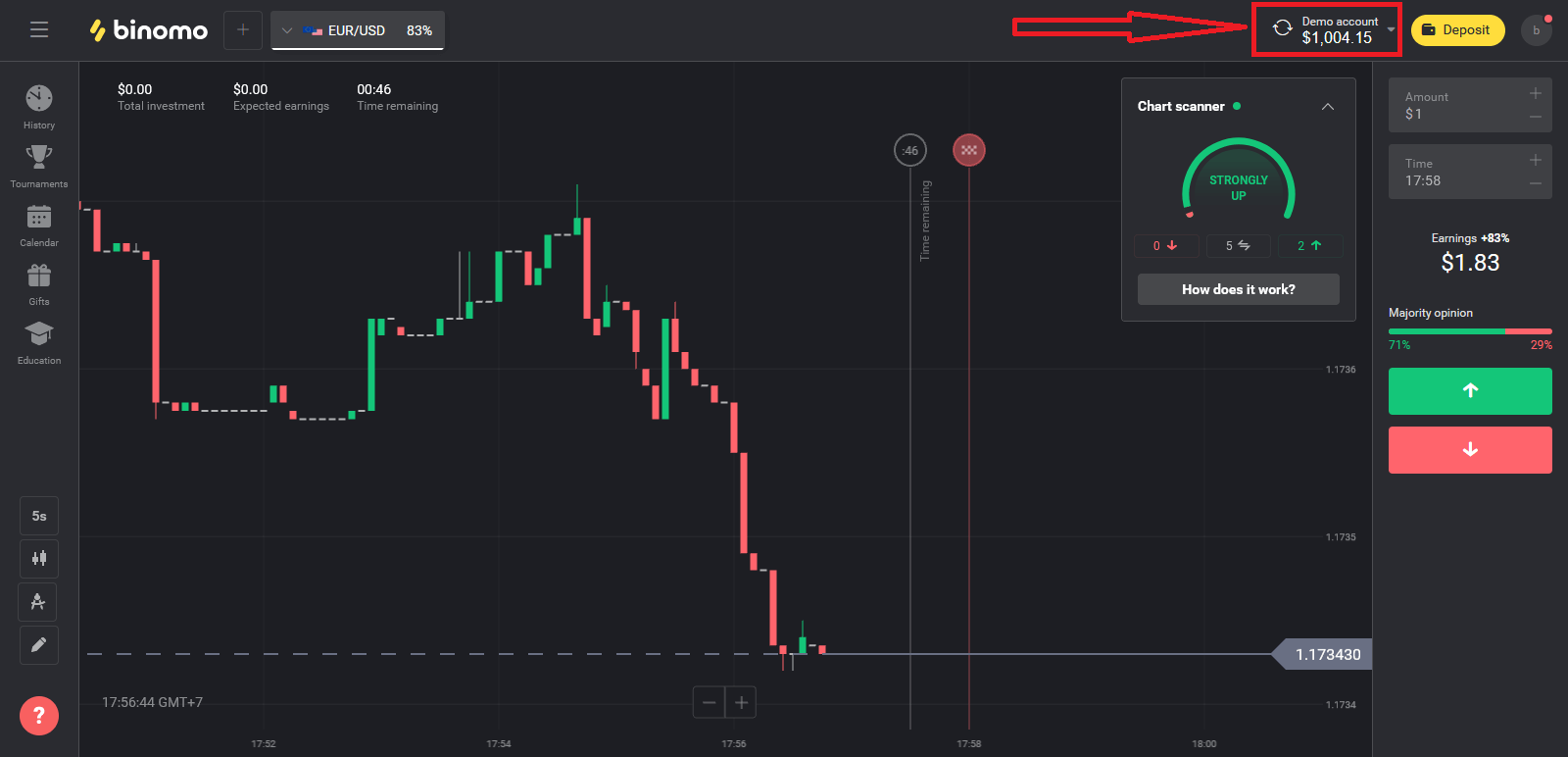 How to Open a Trading Account and Register at Binomo
